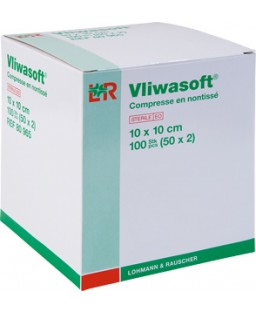 Compresses en non tissé Vliwasoft®* Non stériles,