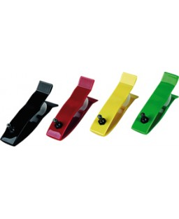 Pinces membres plastique couleur.