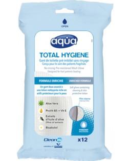 Gants de toilette à usage unique Aqua®